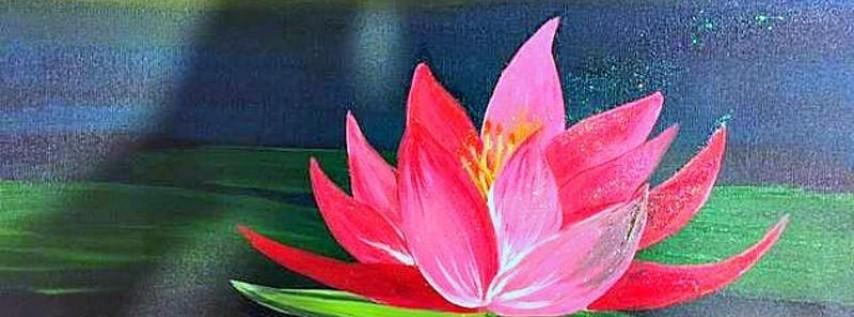 Paint Wine Denver Lotus Blossom Sat June 9th 3pm $35