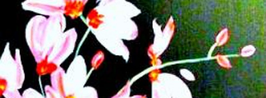 Paint Wine Denver Pink Orchids Sat June 23rd 3pm $35