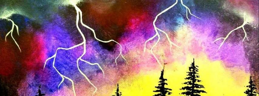 Paint Wine Denver Lightning Strikes Sat June 30th 7pm $40