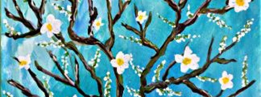 Paint Wine Denver Almond Branches Mon June 4th 6:30pm $30