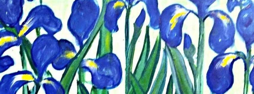 Paint Wine Denver Irises Mon June 11th 6:30pm $30