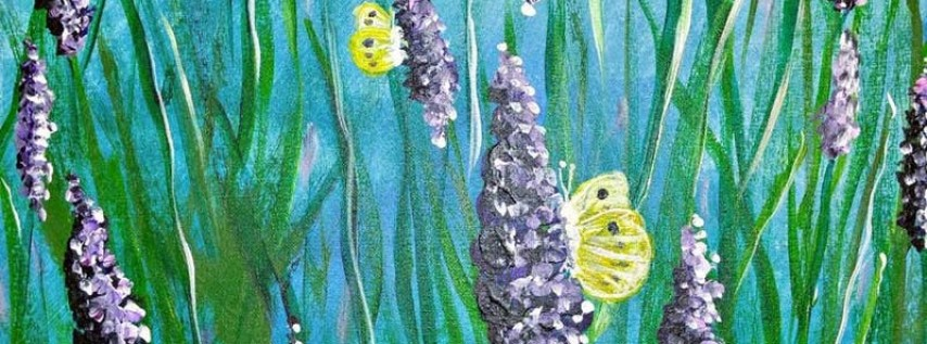 Paint Wine Denver Purple Morning Mon June 18th 6:30pm $30
