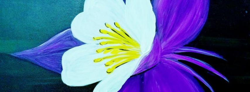 Paint Wine Denver Purple Columbine Wed June 13th 6:30pm $35
