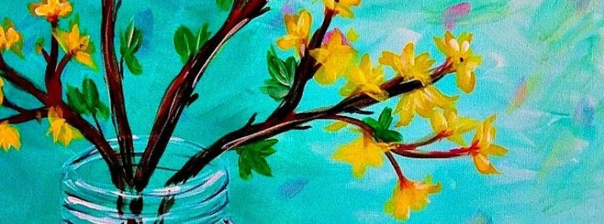 Paint Wine Denver Forsythia Wed June 20th 6:30pm $35