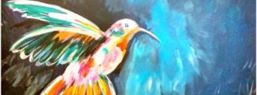 Paint Wine Denver Hummingbird Tues June 12th 6:30pm $30