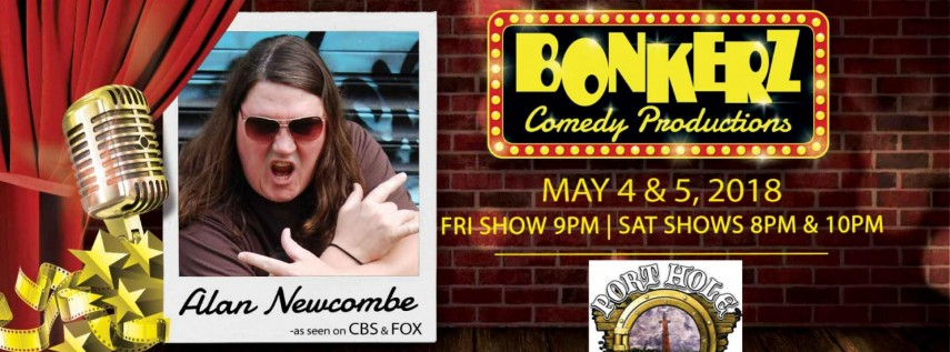 Alan Newcombe at Bonkerz Comedy Club - Daytona