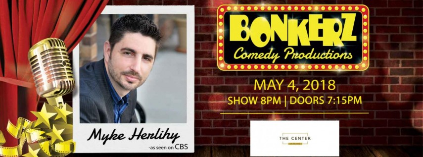 Myke Herlihy at Bonkerz Comedy Club - Deltona