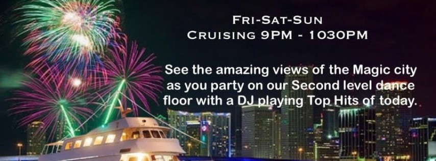 Miami Night's Party Boat, Yacht Party.