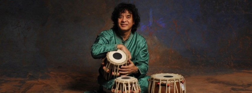 ZAKIR HUSSAIN MASTERS OF PERCUSSION at Berklee Performance Center
