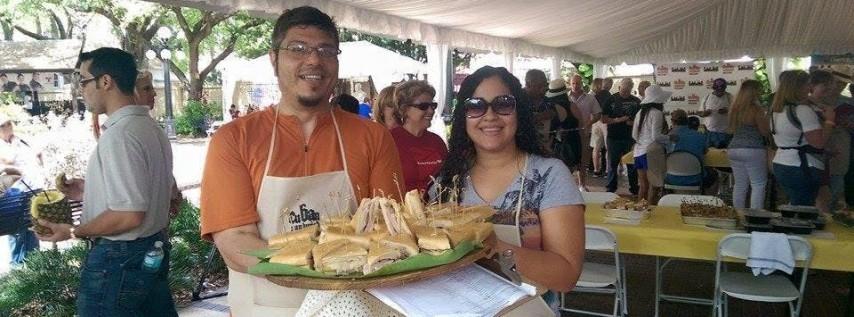 VIP Lounge @ International Cuban Sandwich Festival: The Big Day - Smackdown Sunday @ Centennial Park