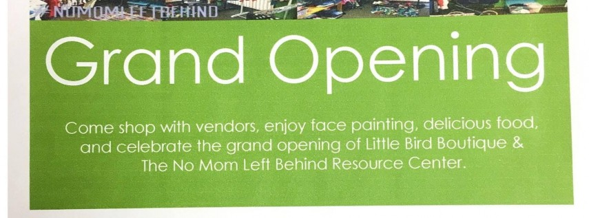 Grand Opening Mothers Day Event
