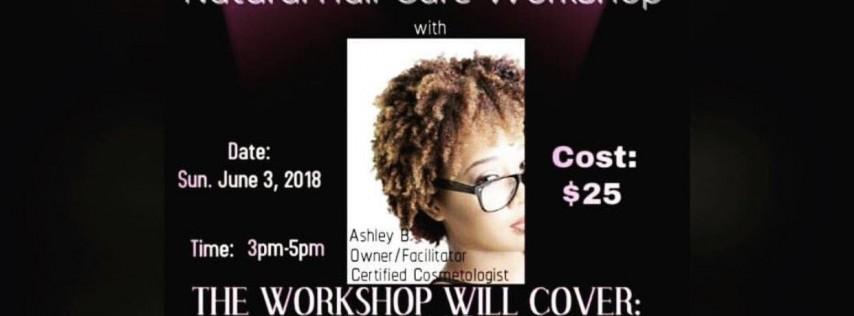 Natural hair care workshop