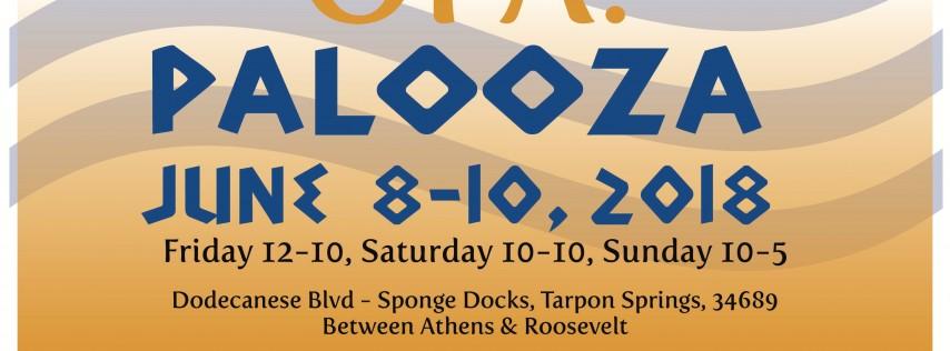 OPA! Palooza Greek Festival