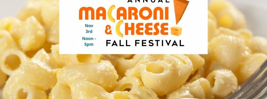 Annual Macaroni N Cheese Fall Festival