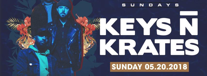 Keys n Krates at Beach House Sundays (5-20-18)