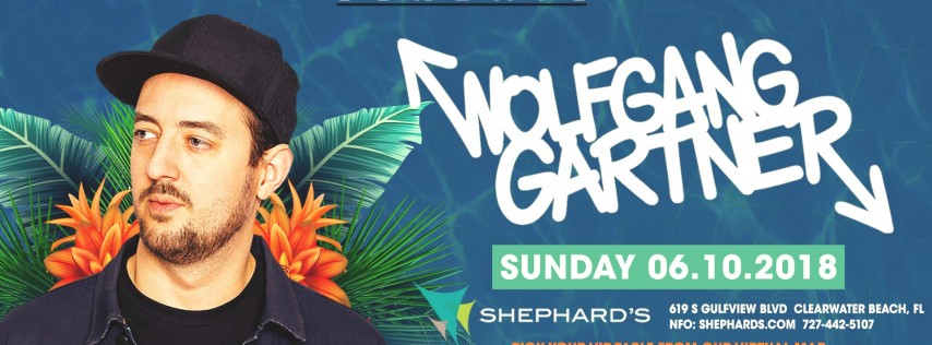 Wolfgang Gartner at Beach House Sundays (6-10-18)