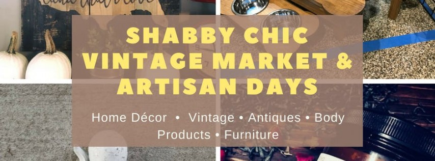 Fall Safety Harbor Shabby Chic Vintage Market U0026 Artisan Day, St Petersburg  U0026 Clearwater FL   Oct 14, 2018   10:00 AM