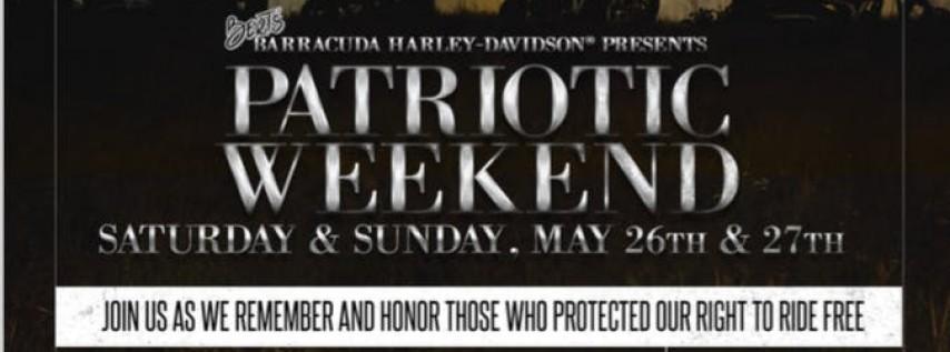 Bert's Patriotic Weekend