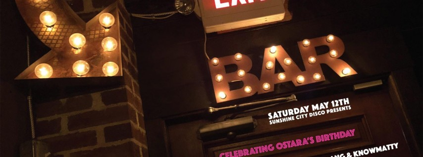 Sunshine City Disco Presents Taimur (Blkmarket Music NYC)