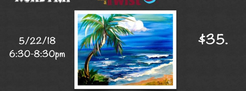 Public~ Painting with Twist Night Big Storm Brewery ~ Odessa