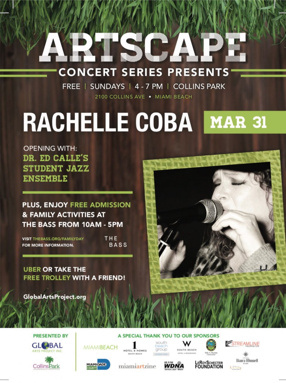Rachelle Coba in Collins Park: Best of the Blues FREE
