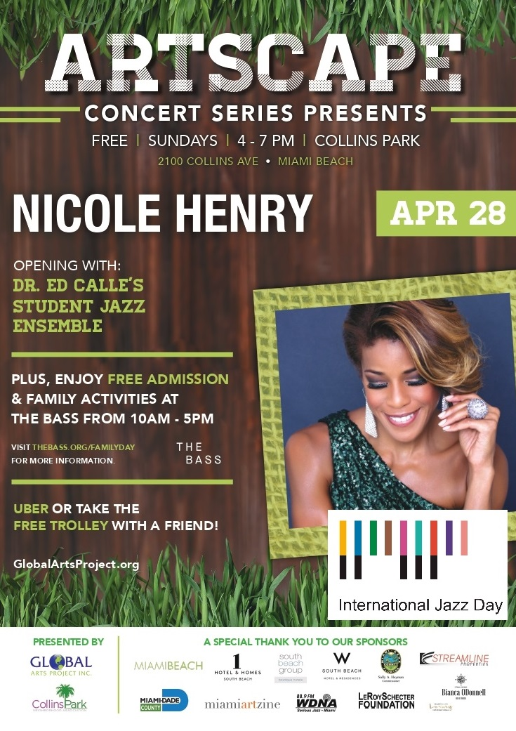 Nicole Henry in Collins Park April 28 FREE