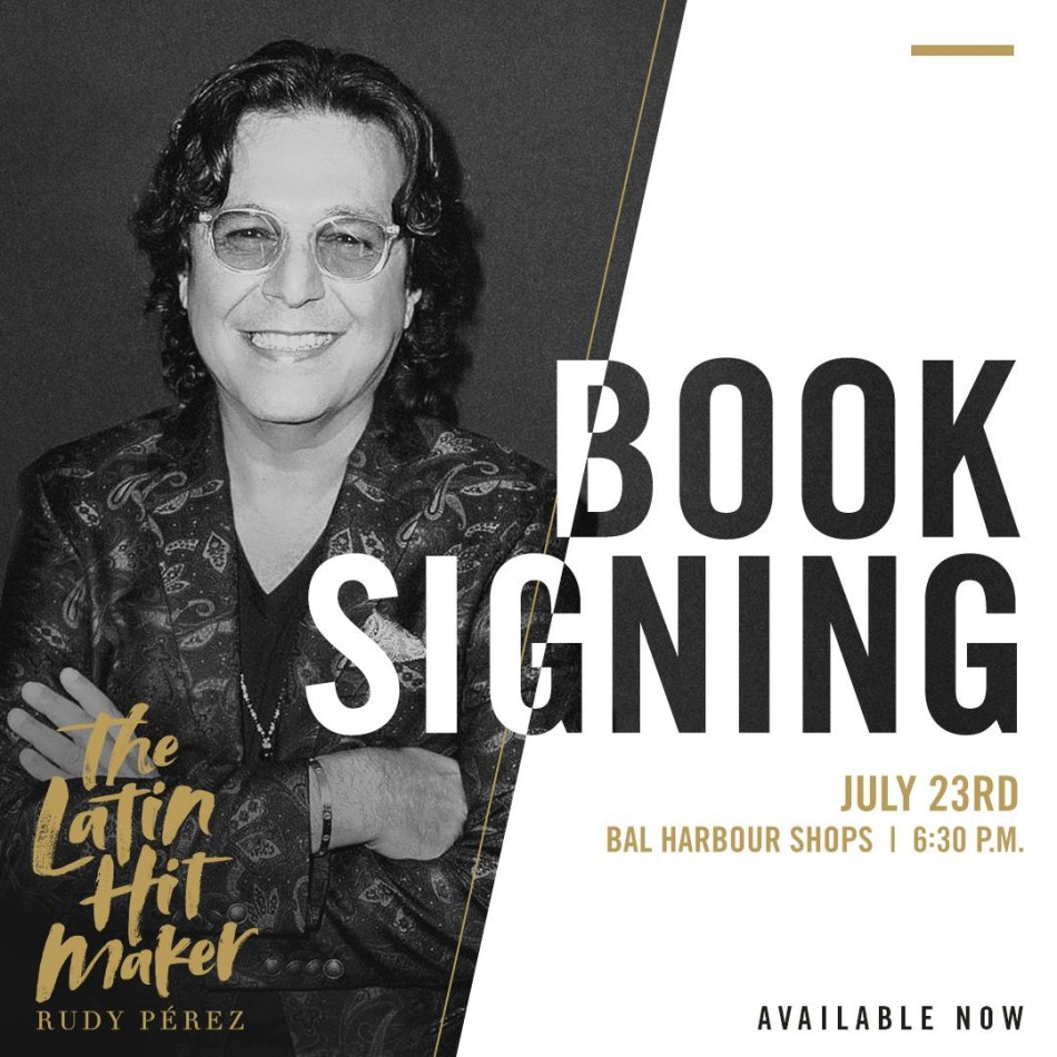 Rudy Pérez Book-Signings July 23-24