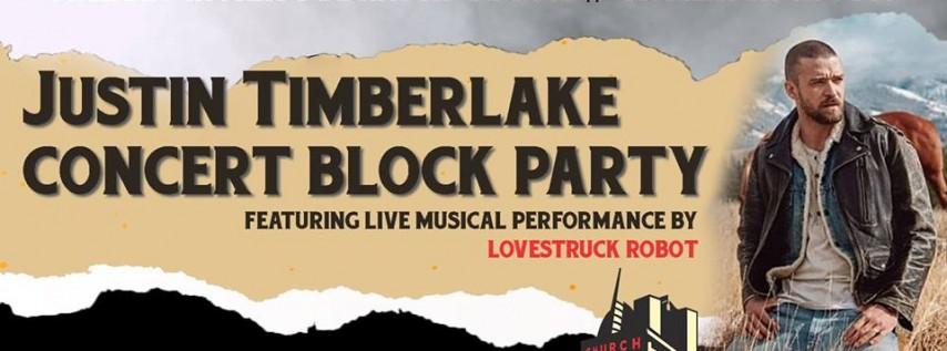 Justin Timberlake Concert Block Party on Church Street