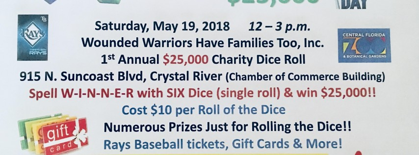 1st Annual $25,000 Charity Dice Roll