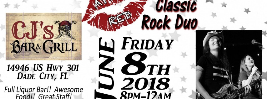 April Red LIVE at CJ's Bar & Grill in Dade City!