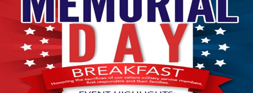 Memorial Day Breakfast 2018