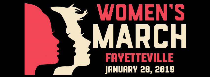 Women's March Fayetteville 2019
