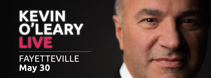 (FREE) Kevin O'Leary LIVE in Fayetteville - Shark retreat Events