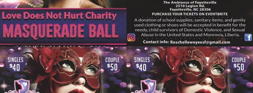 Love Does Not Hurt Charity Masquerade Ball