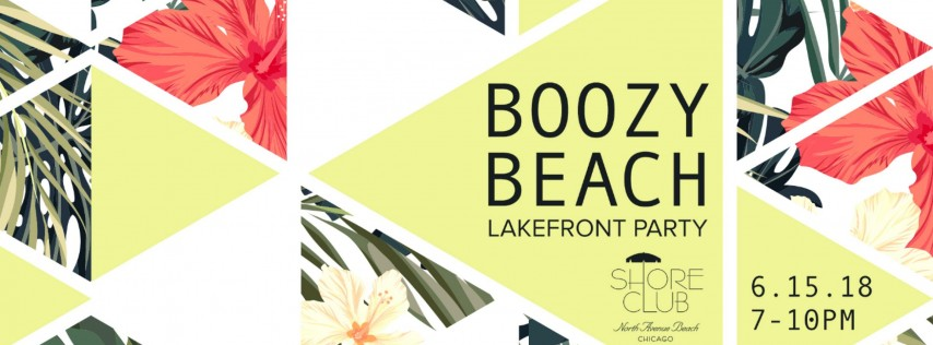 Boozy Beach Lakefront Party
