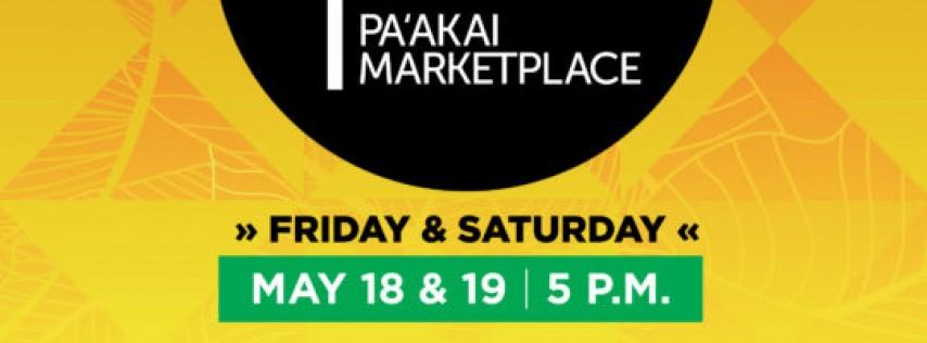 PAʻAKAI MARKETPLACE, MAY 18-19