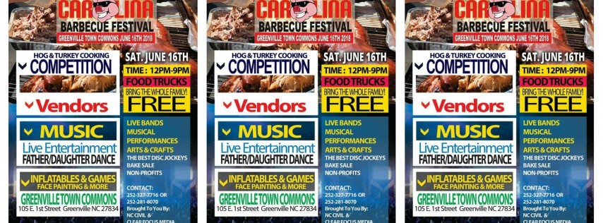 3rd Annual Carolina BBQ Festival