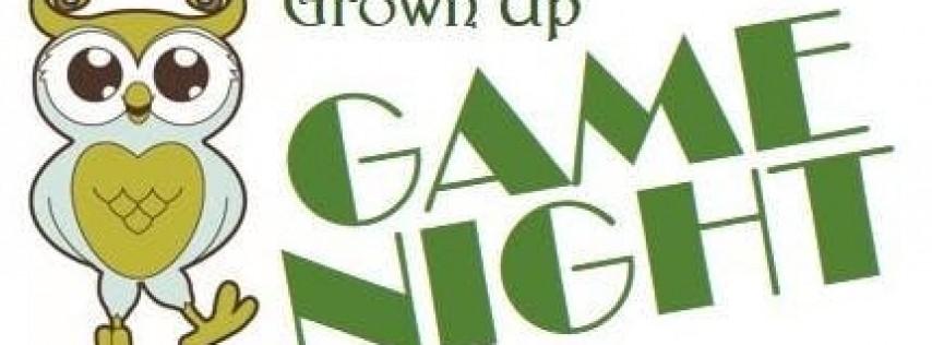 Grown Up Game Night