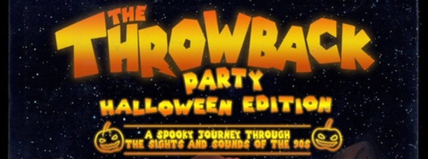 The Throwback 90s Halloween Party