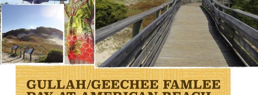 Gullah/Geechee Famlee Day at American Beach