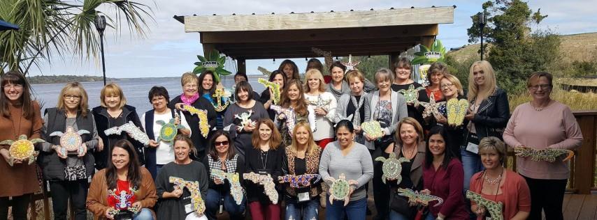Mosaic Craft Party at Palms Fish Camp