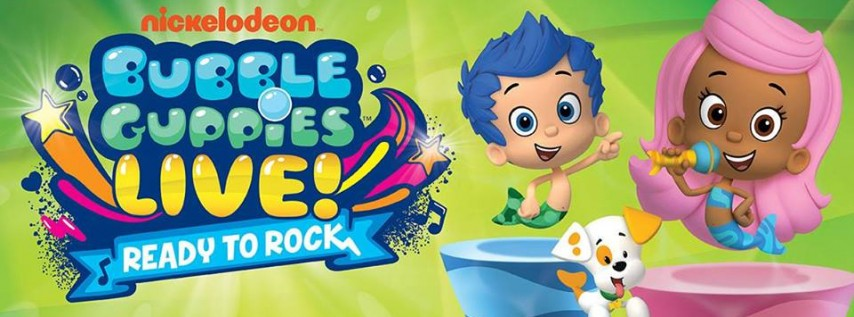"Bubble Guppies Live: ""Ready to Rock"""