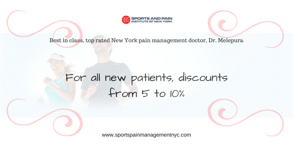 Discount from Sports Injury & Pain Management Clinic of New York