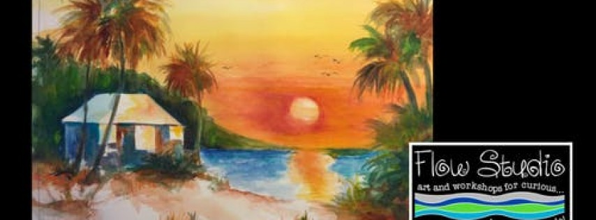 Sip 'n Paint: Explore Watercolors