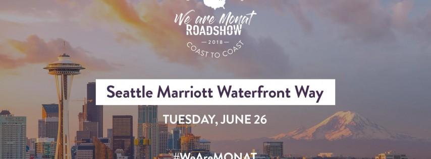 We Are MONAT Roadshow 2018: Seattle