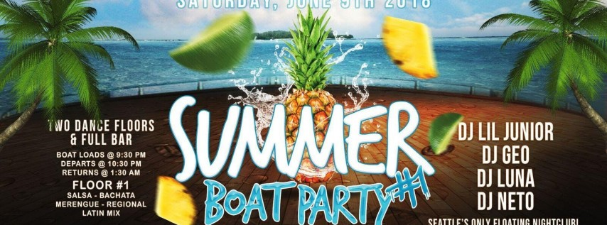 Summer Boat Party #1 2018