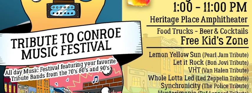 Tribute to Conroe Music Festival