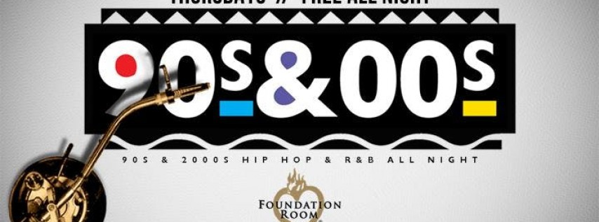 90s & 2000s // Hip Hop & RnB Party