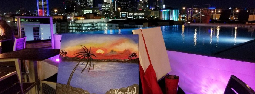 NYLO Dallas Southside Rooftop Paint Party