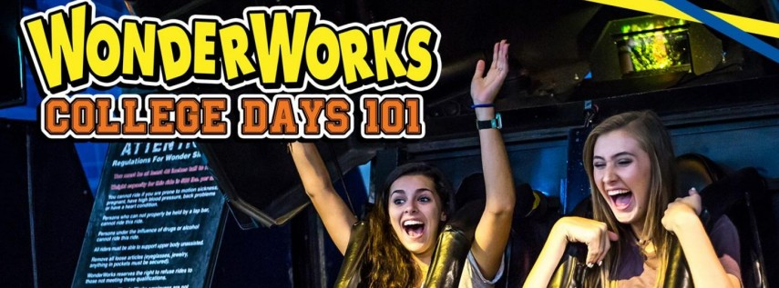 College Days at WonderWorks Orlando